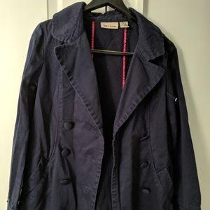 DKNY JEANS navy blue 3/4 length jacket